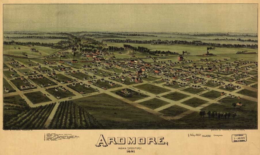the meads ardmore indian territory
